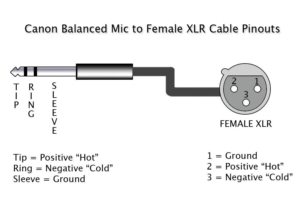 Xlr Connector Wiring Diagram | Wiring Diagram on