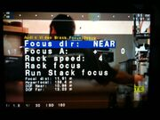 Focus screen