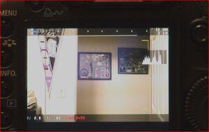 MagicLantern first LCD screen