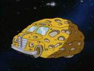 Magic Space Bus Out of This World - asteroid