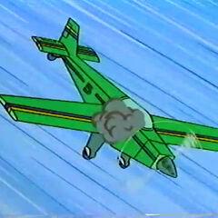 Plane in Technicolor