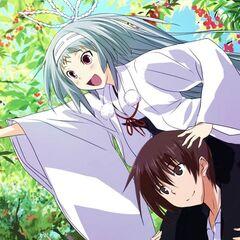 Monshiro and Yamato picking Kawakami Cherries (Majikoi A-2)