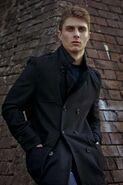 Alex in coat