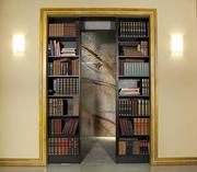 Book case in Rita's house