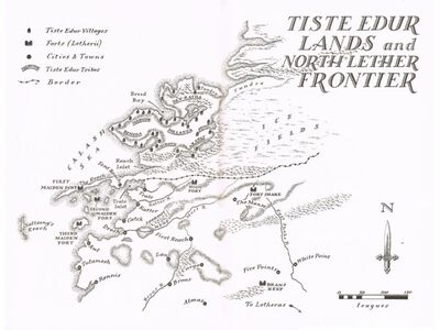 Map Edur Lands