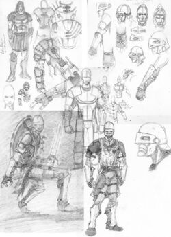 Malazan infantry sketches by slaine69