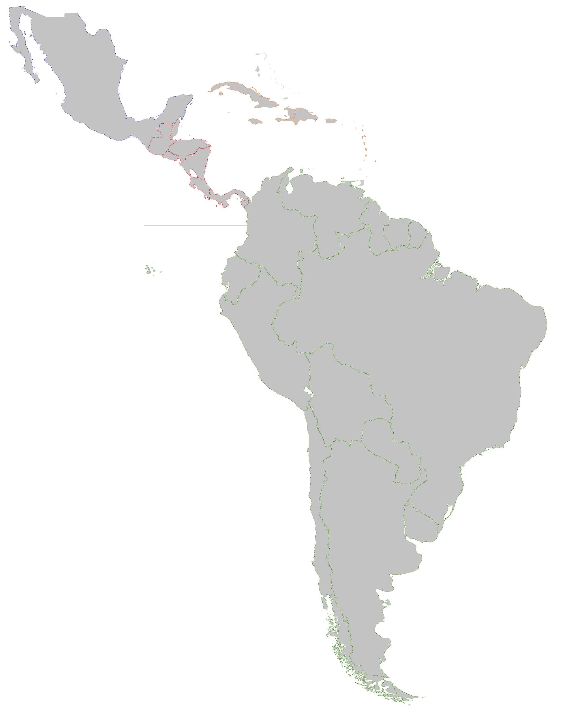 Image  TVLatin America base mappng  Map Game Wiki  FANDOM