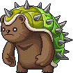 Mob Brown Thorny Bear