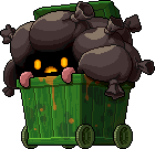 Mob Trash Can