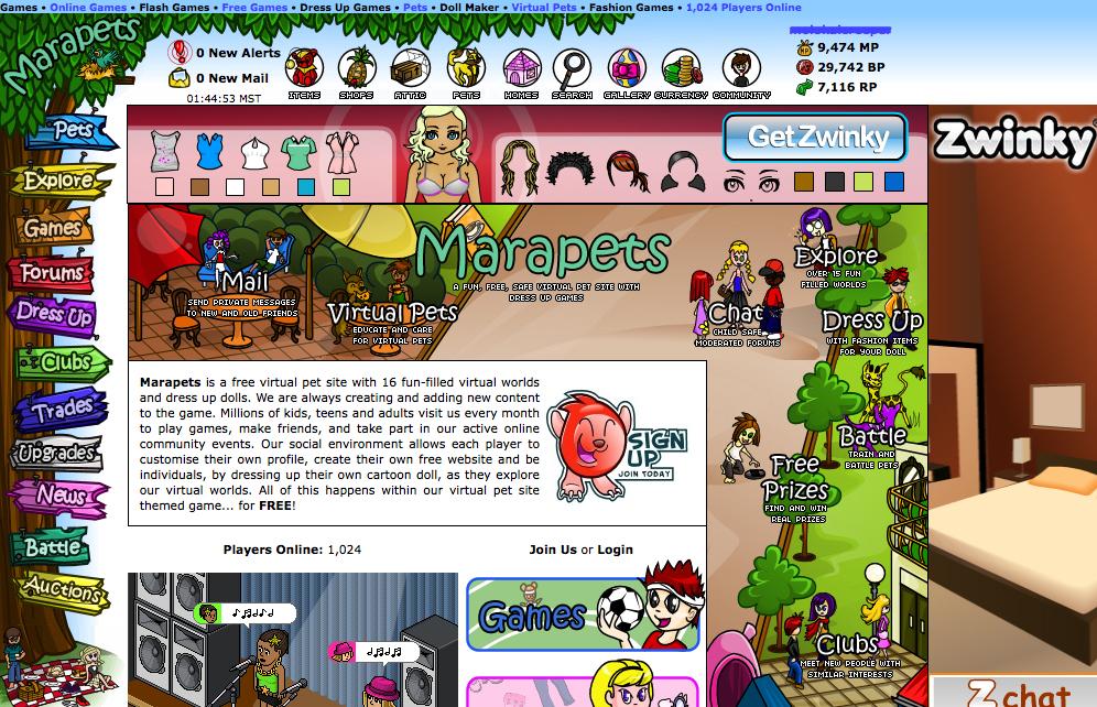 64 Games Like Marapets – Games Like