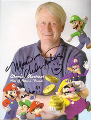 Mario the Martinet