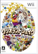 Wario Land Shake It! - Japanese Boxart