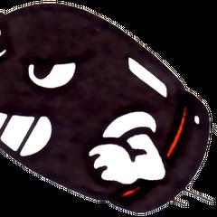 Bullet Bill's artwork from <i>Super Mario Bros.</i>