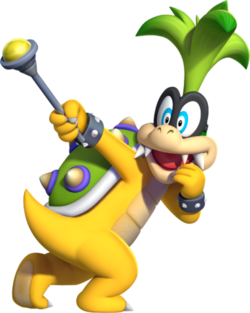 Iggy Koopa, New Super Mario Bros. U
