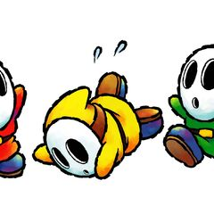 Different types of Shy Guys from <i><a href=