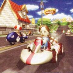 A Mii racing in <i><a href=