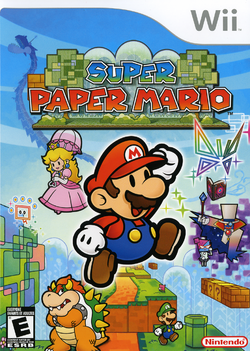 Super Paper Mario (North American box)