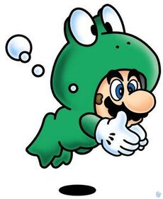 Frog suit mario large