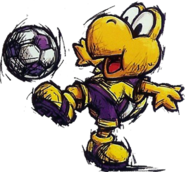 Koopa Troopa Art (Super Mario Strikers)