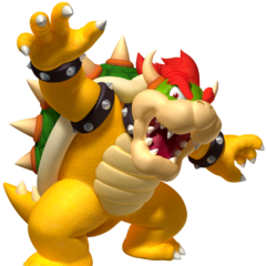 Don't mess with Bowser!