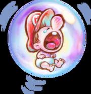 466px-Baby Mario Artwork - Yoshi's New Island