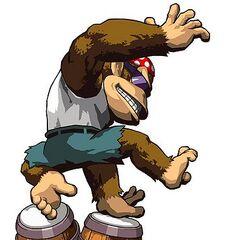 A Funky Kong sticker