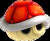 Red Shell Artwork - Mario Kart Wii