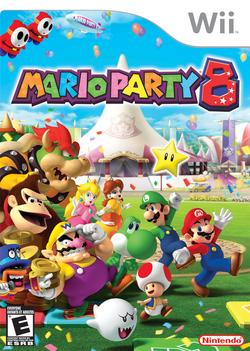 Mario Party 8 - North American boxart