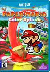 Paper Mario Color Splash Boxart