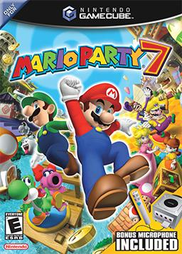 Mario Party 7 US Cover