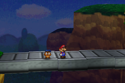 Goomba Road to Toad Town Bridge