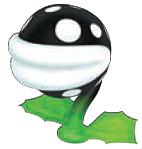 Inky Piranha Plant, Super Mario 3D Land
