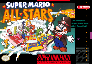 Super Mario All-Stars - North American Boxart