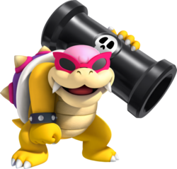 Roy Koopa, New Super Mario Bros. U