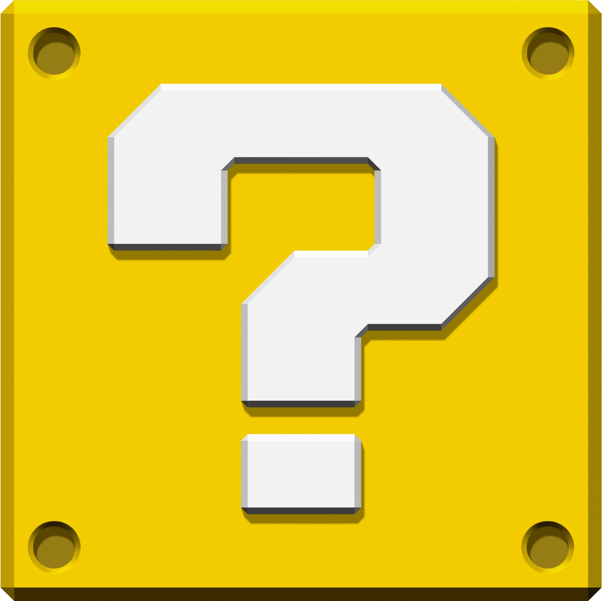 image question block art new super mario bros png mariowiki