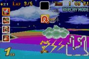 Rainbow Road (Toad shocked by Thunder Cloud)