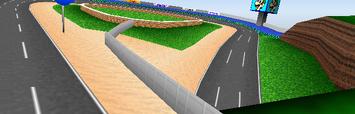 Luigi Raceway Overview - Mario Kart 64