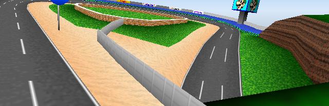 File:Luigi Raceway Overview - Mario Kart 64.png