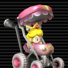 Baby Peach's <b>Booster Seat</b>.