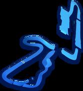 MK8 Shy Guy Falls map