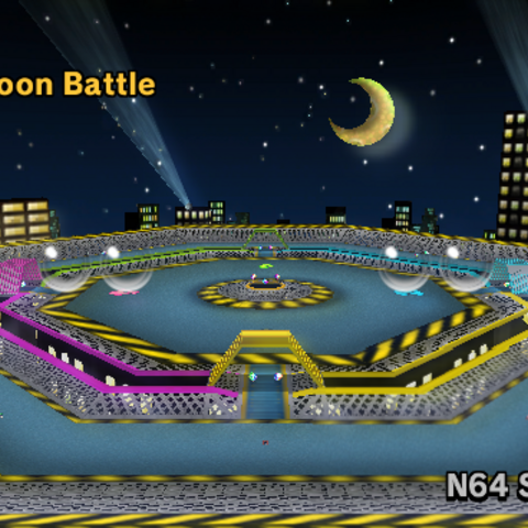 The stage in <i>Mario Kart Wii</i>.