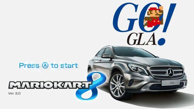File:Mario Kart 8 Title Screen (Mercedes-Benz GLA).jpg