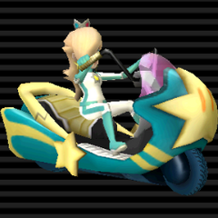Twinkle Star (Shooting Star) Rosalina themed bike