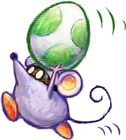 File:Little Mouser Artwork - Yoshi's New Island.png