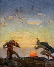 Boys King Arthur - N. C. Wyeth - p306