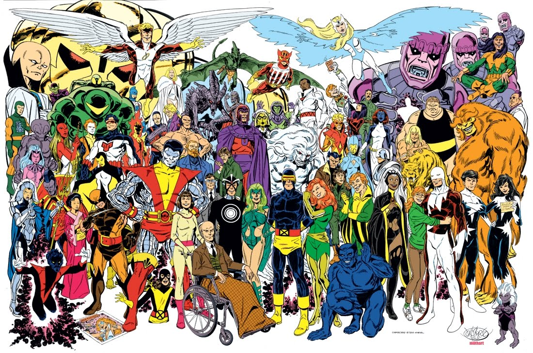Marvel Charaktere Liste