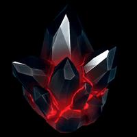 Crystal blackwidow