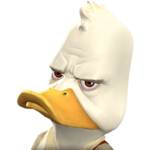 Howard the Duck portrait