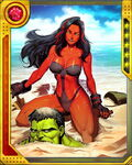 Hit the Beach Red She-Hulk
