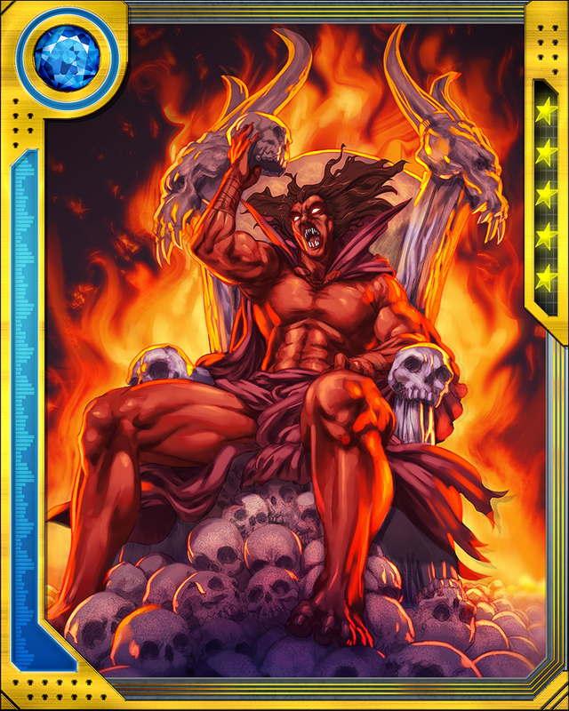 Mephisto marvel demon form